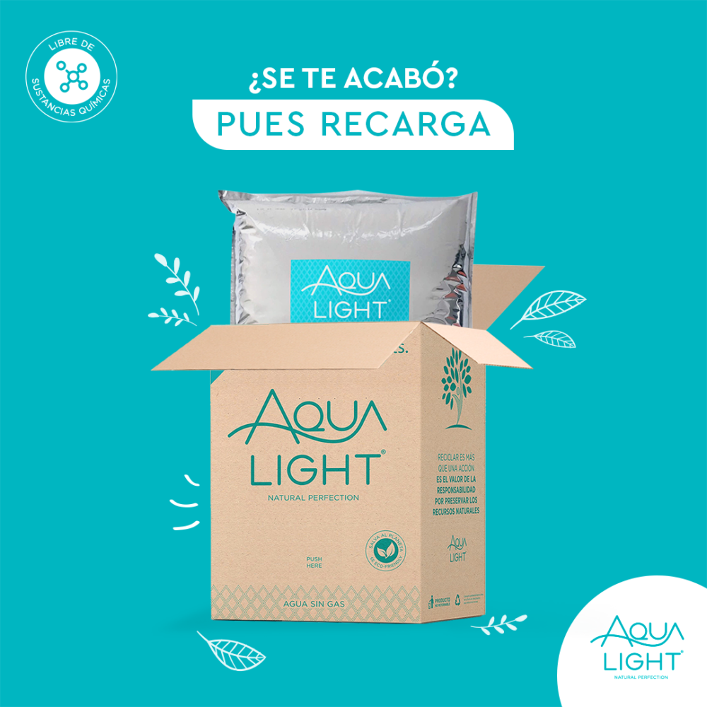 AquaBox 20 Litros- Delivery Incluido (*)
