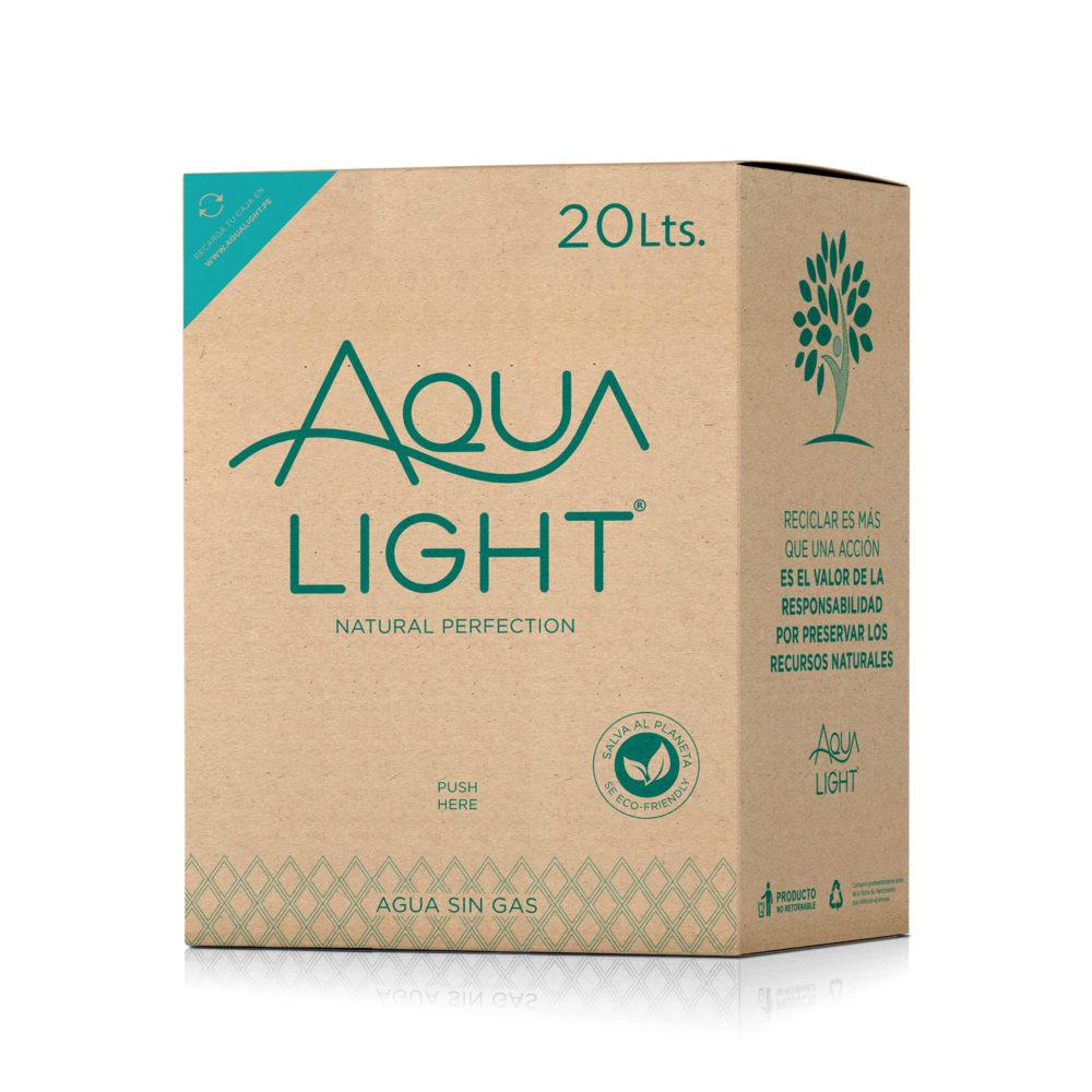 Caja de agua Purificada y Ozonizada de 20 litros - EcoFriendly